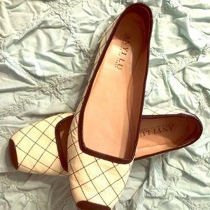 Anyi Lu patent leather ballet flats